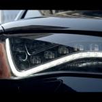 Der Audi S8: Verdächtig