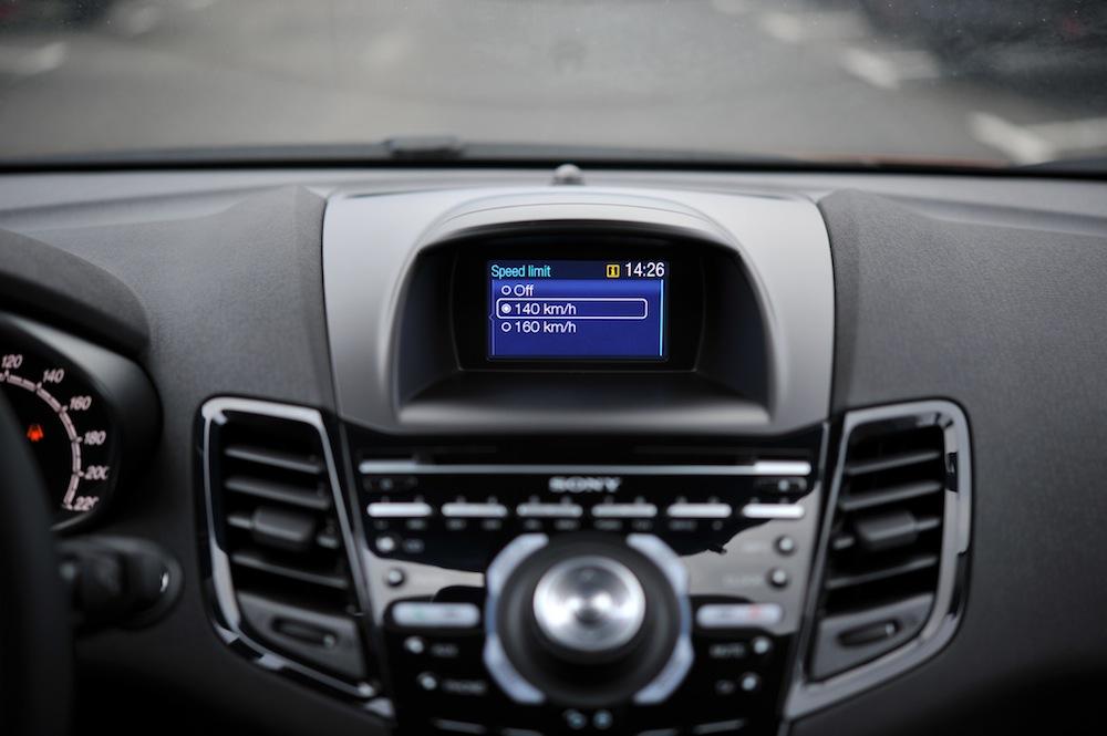 Die Ford MyKey Konfiguration erfolgt über den Bord-Computer – © Ford