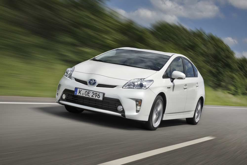 Toyota Prius (4. Generation) – © Toyota Deutschland