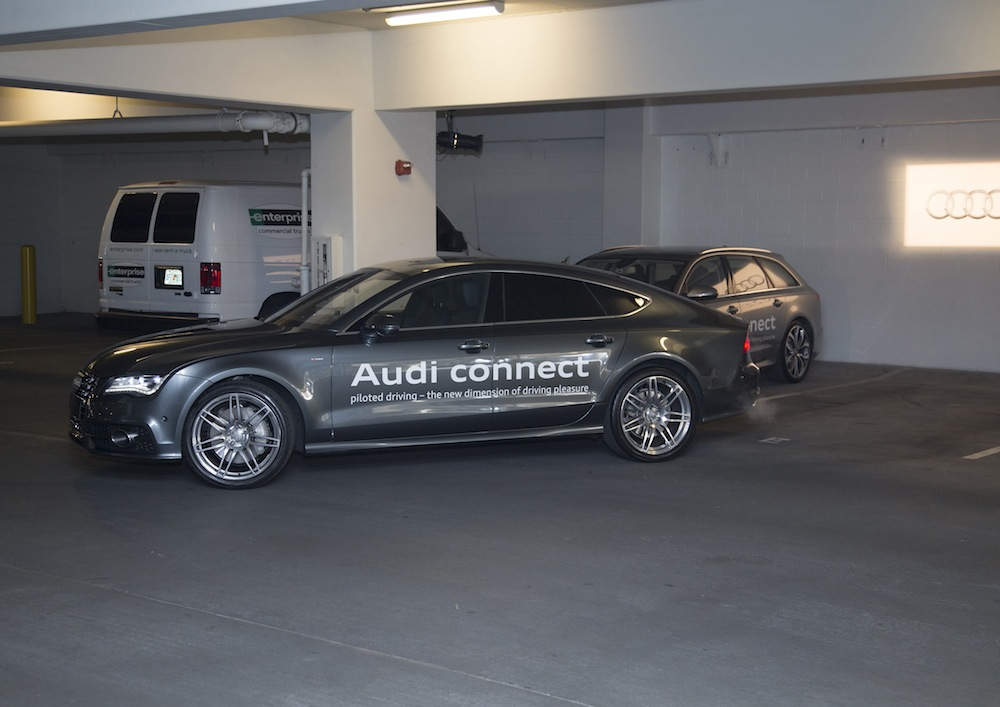 Audi A7 mit Audi connect