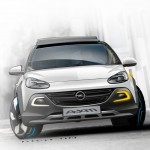 Opel ADAM on the rocks