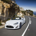 iPhone-Halterung im Toyota FT-86 Open Concept Cabrio