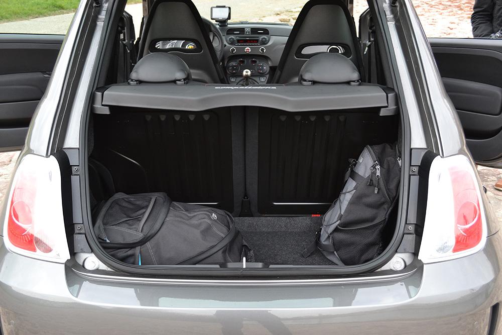 abarth 595 competizione kofferraum fahrr ckt. Black Bedroom Furniture Sets. Home Design Ideas