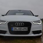 Audi A6 3.0 TDI quattro Front Draufsicht