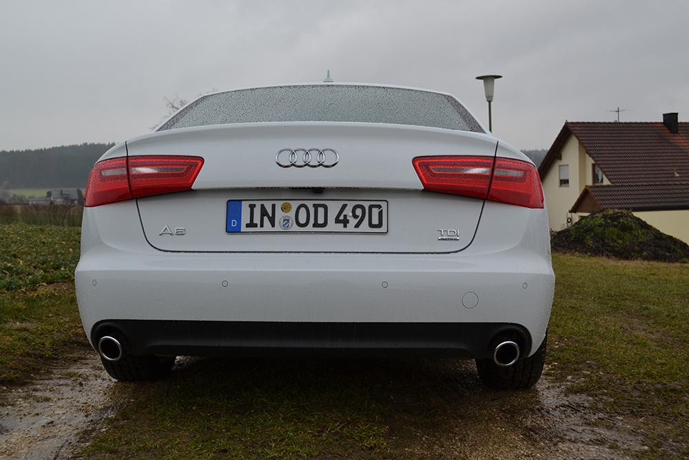 Audi A6 3.0 TDI quattro Heck