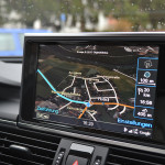 Audi A6 3.0 TDI quattro MMI Bildschirm Google Maps Navigation