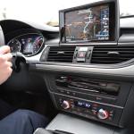 Audi A6 3.0 TDI quattro Mittelkonsole