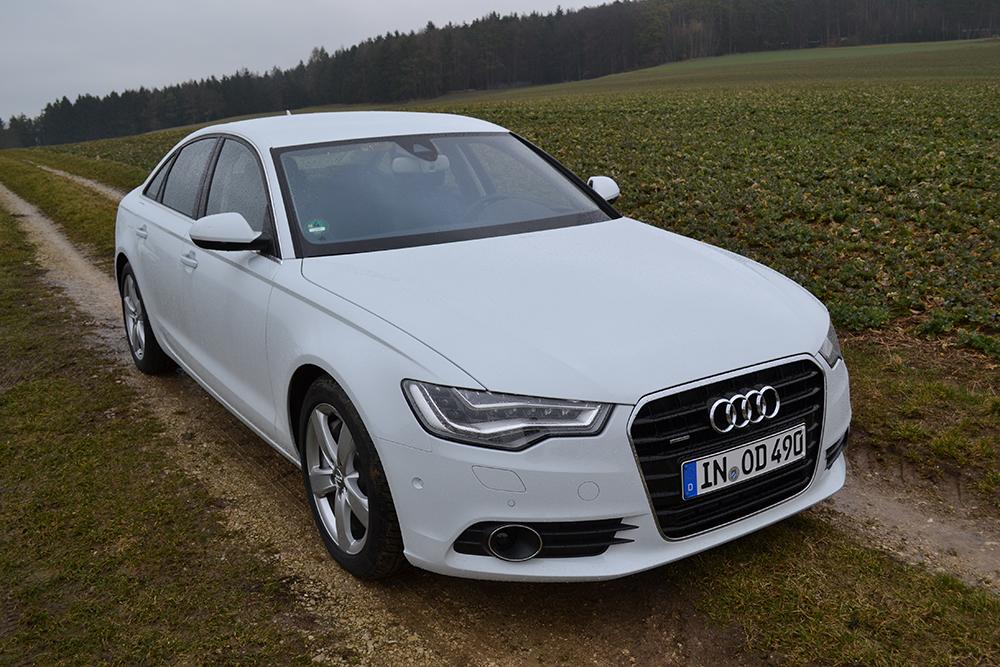 Audi A6 3.0 TDI quattro vorne rechts