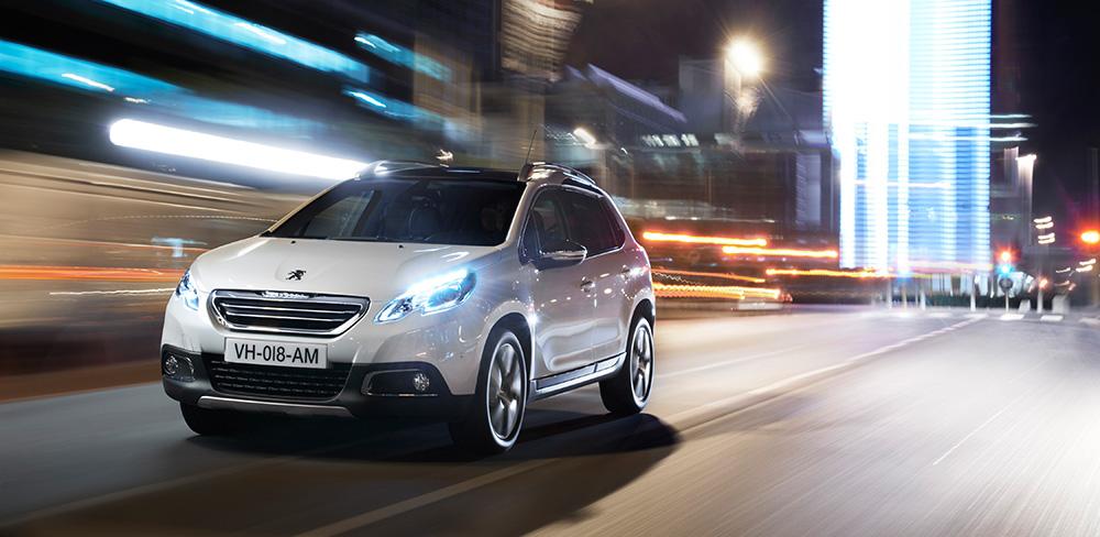Der neue Peugeot 2008 Urban-Crossover