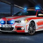 BMW auf der RETTmobil: schicke Einsatzfahrzeuge für Notarzt und Feuerwehr