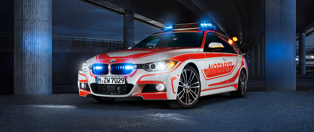 BMW 3er Touring Notarzt RETTmobil