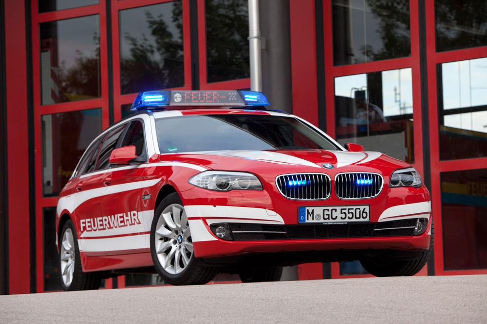 BMW 5er Touring Feuerwehr RETTmobil