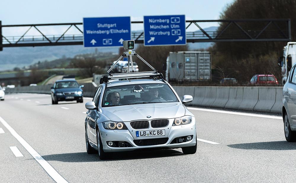 Bosch Automatisiertes Fahren auf der Autobahn