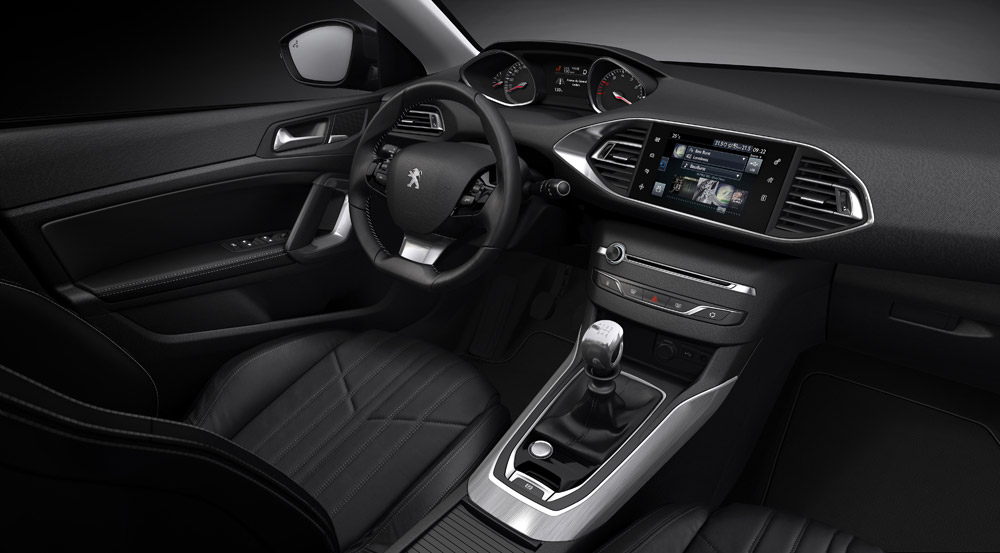 Peugeot 308 Cockpit und Armaturenbrett