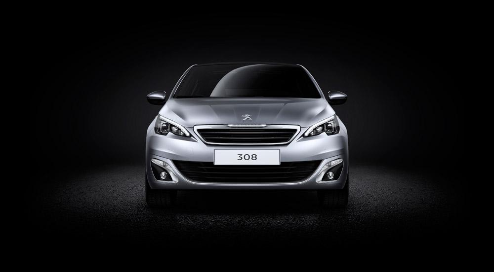 Peugeot-308-2014-Front-Draufsicht