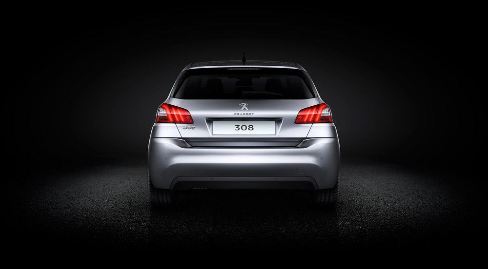 Peugeot 308 Heck