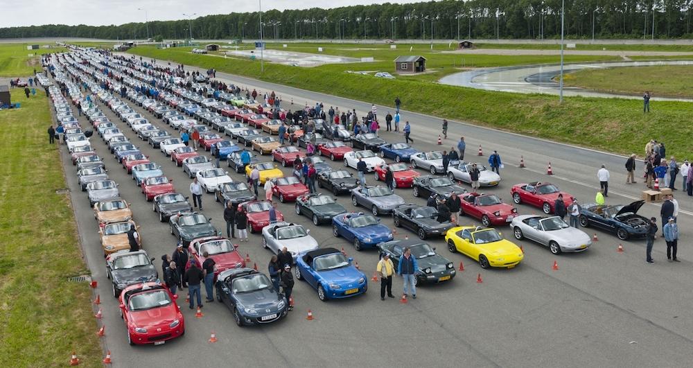 Mazda MX5 Korso Weltrekord