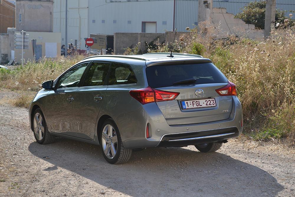 Toyota Auris Touring Sports Heck Seite
