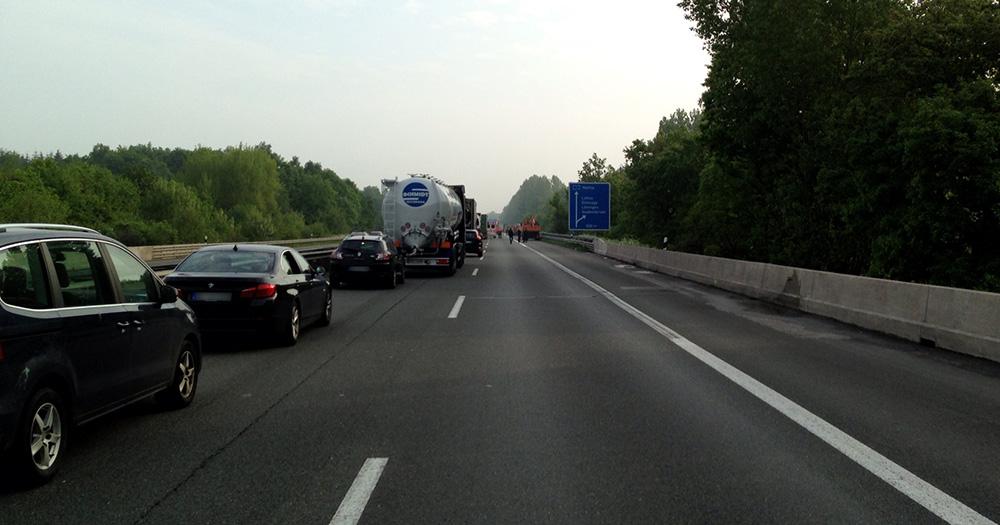 Unfall Autobahn