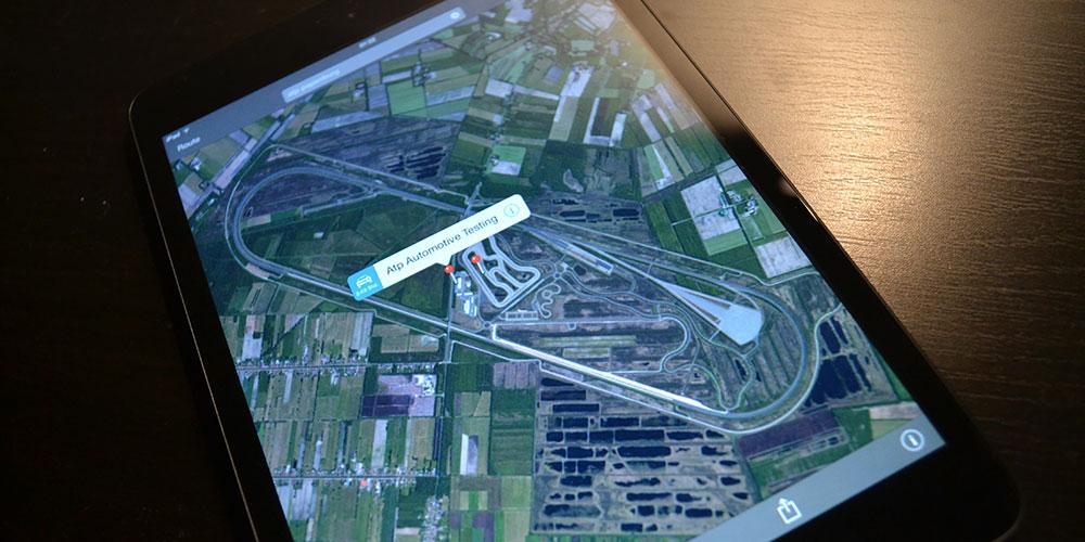 ATP Testgelaende Papenburg iPad Maps