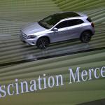 IAA 2013: Nachts allein bei Mercedes-Benz in Halle 2
