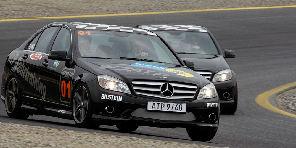 Mercedes-Benz C300 Bilstein Test Papenburg