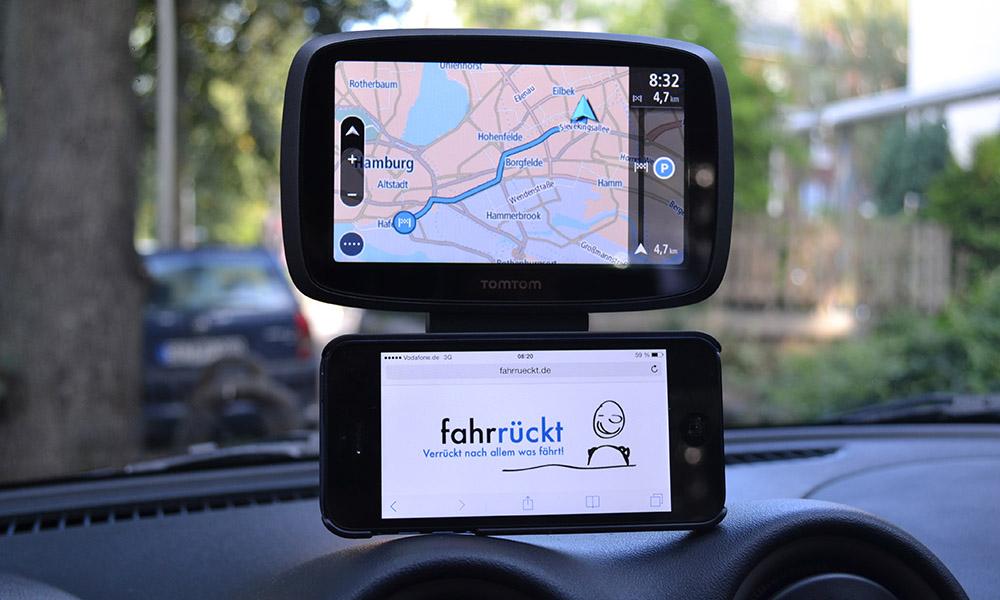 TomTom GO 500 Vergleich iPhone 5