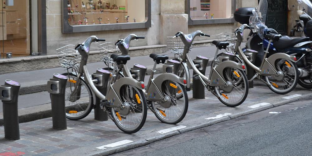 Paris13-Fahrrad-Leihstation