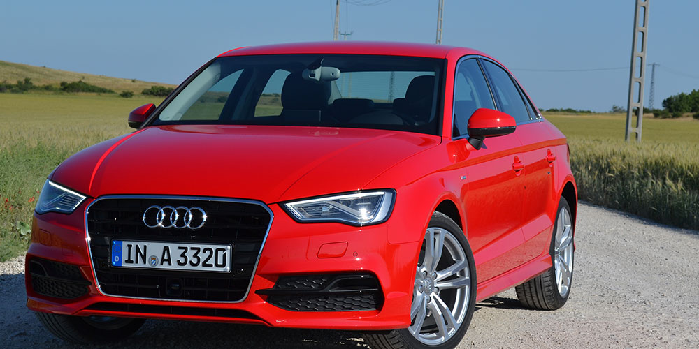 Audi-A3-Limousine-Fahrveranstaltung