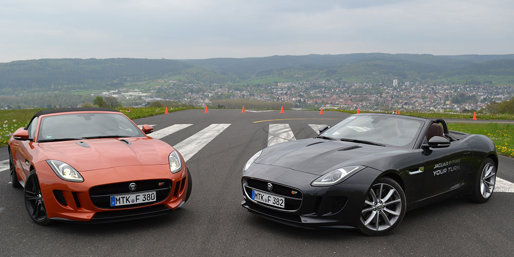 Jaguar-F-Type-Fahrveranstaltung