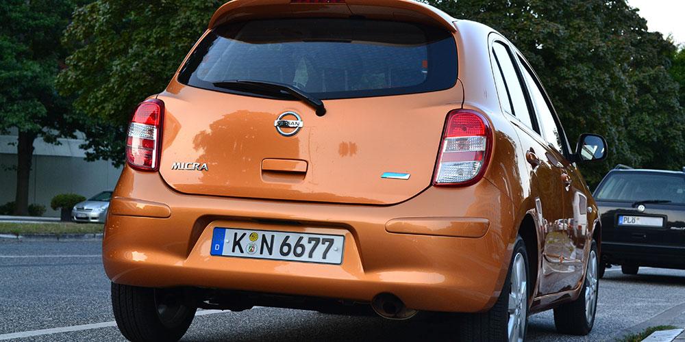 Nissan-Micra-Testwagen