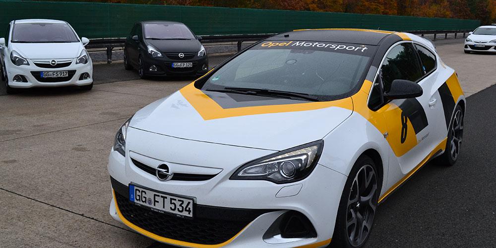 Opel-OPC-Fahrtraining